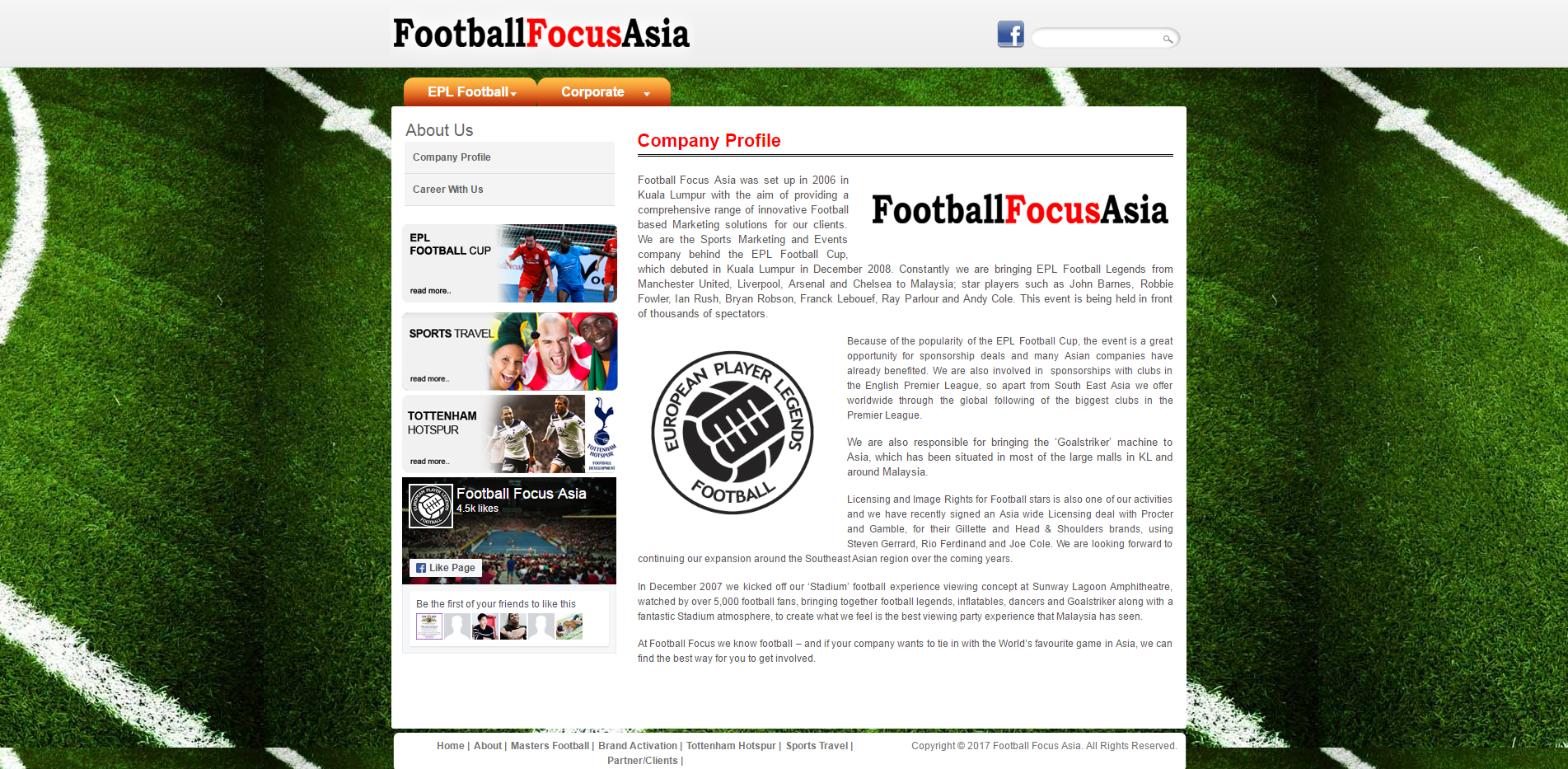 Company Profile Football Focus Asia