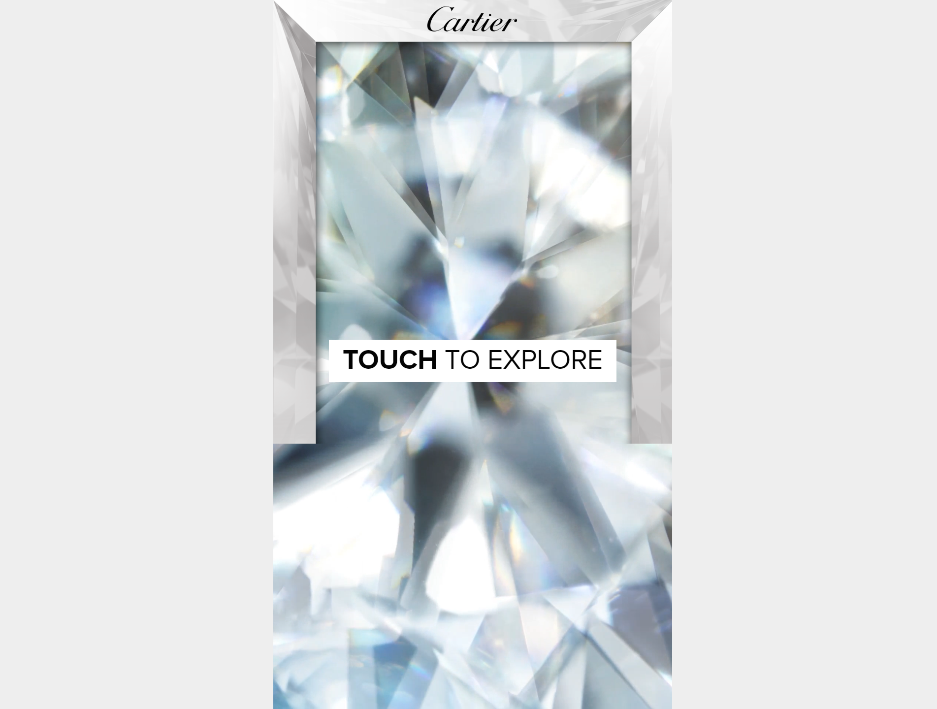 THE CARTIER DIAMOND homepage
