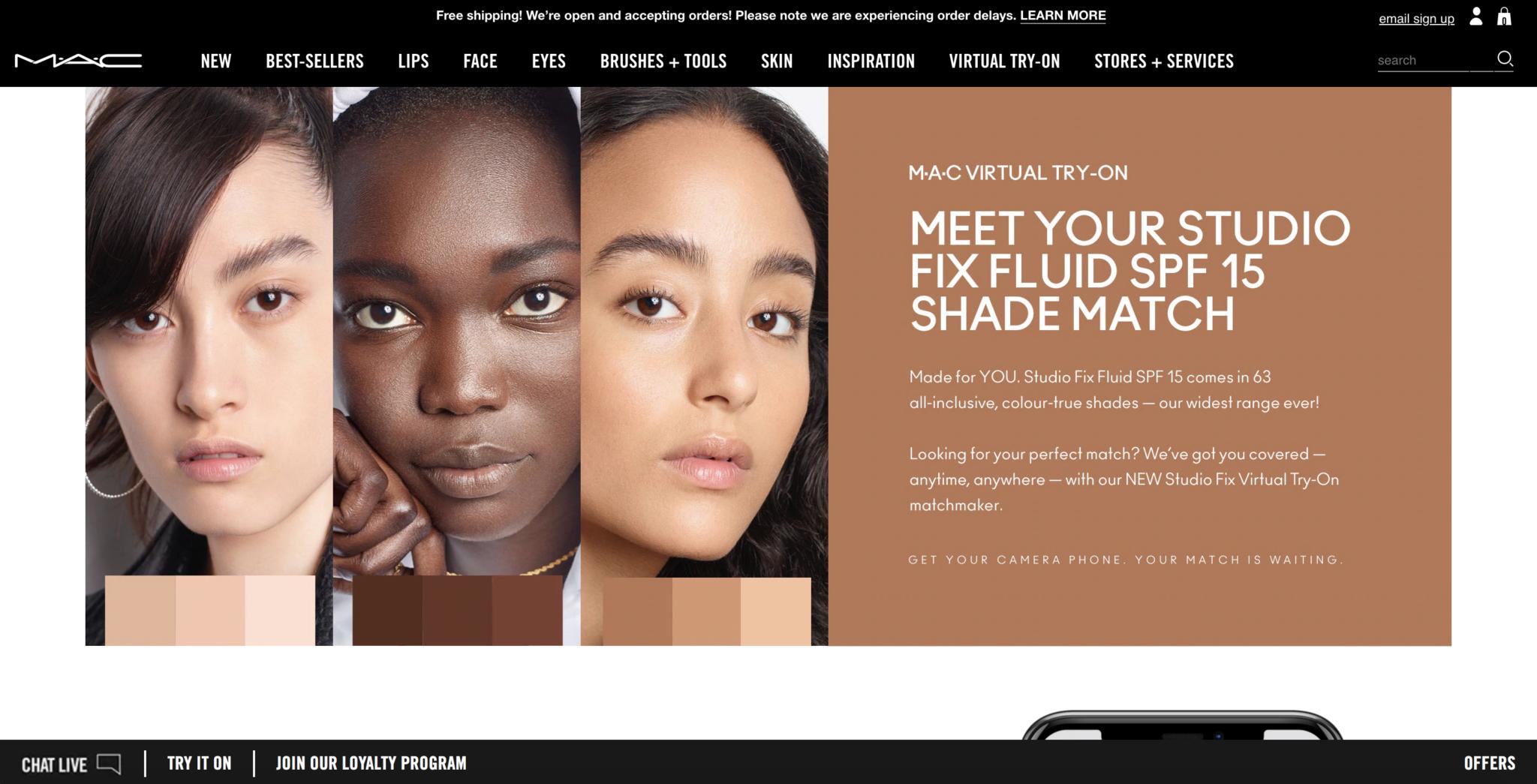 MAC-Cosmetics-Website-Design