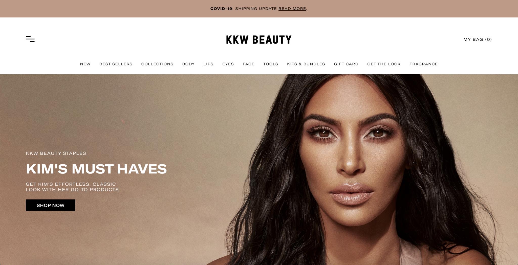 KKW Website Design